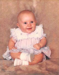 Steve Jacobs OD Leigh Baby Photo